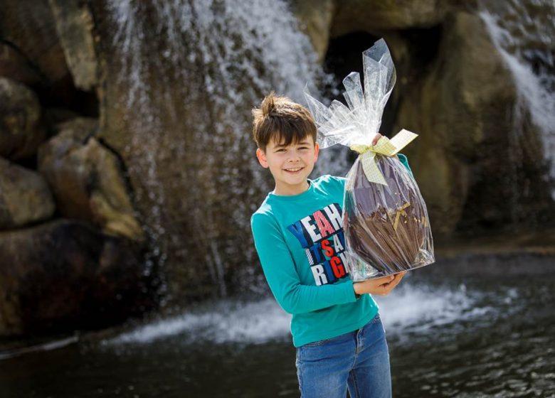 Grande chasse aux oeufs de Pâques