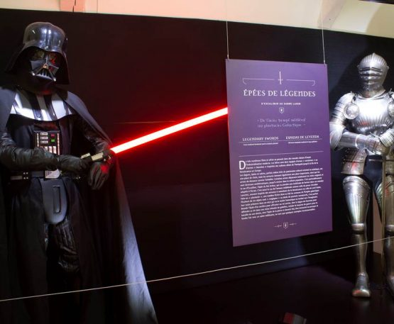 "Exhibition ""Swords of legend - from Excalibur to the lightsaber"""